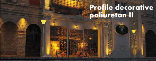 Profile decorative poliuretan
