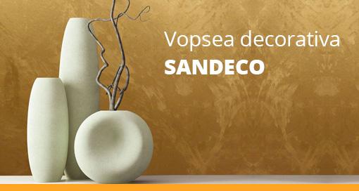 vopsea decorativa sandeco